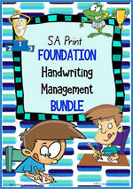 Foundation Handwriting | Management | BUNDLE | SA Print