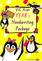 Year 1 | Handwriting Programme| PACKAGE | VIC Print