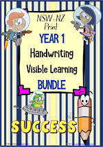 Year 1 | Handwriting | Visible Learning | BUNDLE | NSW-NZ Print