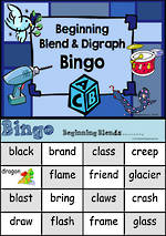 Beginning Blend | Bingo Game 1