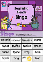 Beginning Blend | Bingo Game 3