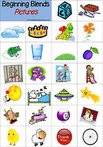 Beginning Blends | Digraph | Tile Cards