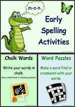 Early Spelling | Activity Cards