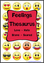Feelings - Emotions Thesaurus | Cards 2