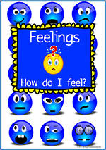How do I feel?   Feeling and Action   Charts and Cards