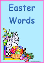 Easter | Words | Cards