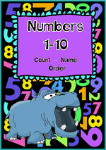 Numbers 1-10 | Learning Intention Chart and Cards | VIC Print