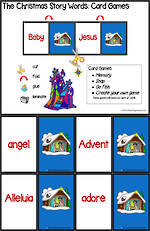 The Christmas Story | Words | Card Games
