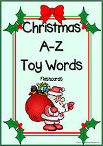 A-Z | Christmas | Toy Words | Cards