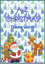 A-Z | Christmas Words |  Cards