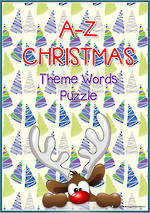 A-Z | Christmas Words | Puzzle