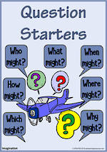 Question Starters | Extended Questioning  | Imagination