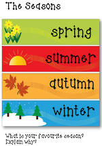 The Seasons Chart