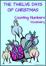 Christmas | The Twelve Days of Christmas | Counting | Vocabulary