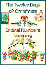 Christmas | The Twelve Days of Christmas | Ordering | Vocabulary