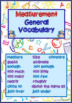 Mathematics Vocabulary | Measurement | Level 1 | Tiles