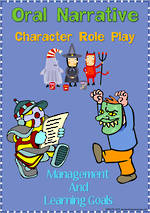 Oral Narrative - Character Role Play | Charts 1