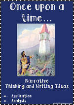 Once upon a time... | Narrative | Critical & Creative Thinking | Writing Prompt | Set 2