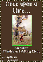 Once upon a time… | Narrative | Critical & Creative Thinking | Writing Prompts | Set 3