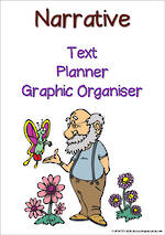 Narrative Writing  | Text Planner | Graphic Organiser | Chart