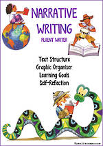 Narrative Writing | Learning Goals and Self Reflection  | Fluent Writer