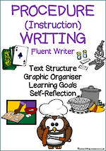 Procedural Writing | Learning Goals and Self Reflection | Fluent Writer