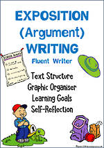 Exposition (Argument) Writing | Learning Goals and Self Reflection | Fluent Writer