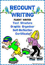 Recount Writing | Text Structure | Self-Reflection | Fluent Writer