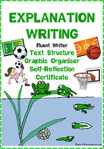 Explanation Writing | Text Structure | Self-Reflection | Fluent Writer