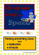 Space | Creative Thinking - Writing Prompts | Set 2