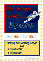Space | Critical & Creative Thinking |  Writing Prompts | Set 3