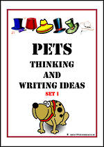 Pets | Critical &  Creative Thinking | Writing Prompts | Set 1