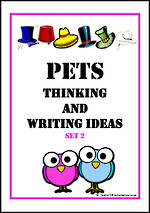 Pets | Critical & Creative Thinking | Writing Prompts | Set 2