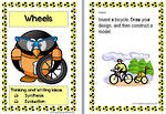 Wheels | Writing Prompts For Fluent Writers | Cards | Set 3