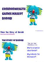 BOROBI the CG 2018 Mascot | Writing Prompt