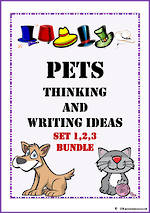 Pets| Critical & Creative Thinking | Writing Prompt | BUNDLE