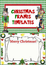 Christmas Frames | Writing | Display Templates