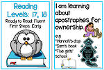 Fluent Reading | Levels 17,18 | Learning Goals | Flip Charts