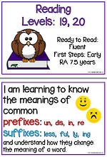 Fluent Reading | Levels 19, 20 | Learning Goals | Flip Charts