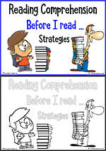 Before I Read | Reading  Comprehension Strategies