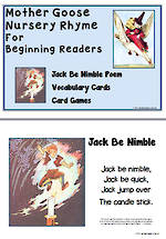 Mother Goose | Jack Be Nimble | Emergent Readers