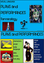 Visual Language | Plays and Performances Terminology