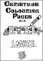 Christmas | Colouring Pages | Card Making | Writing Prompt | Set 2