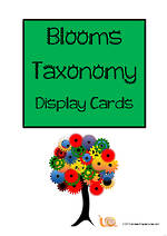 Thinking Skills | Blooms Taxonomy | Cards