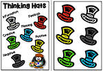 The Six Thinking Hats | Poster