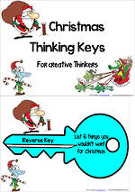 Christmas Thinking Keys |  For Creative Thinkers