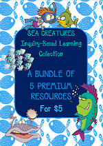 Sea Creatures | Inquiry-Based Learning | BUNDLE