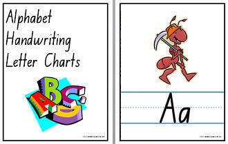 Alphabet | Handwriting | Display | NSW - NZ Print