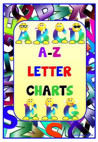 Alphabet | Uppercase Letters | Charts