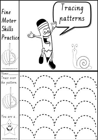 Foundation  Handwriting | Practice | Pattern | Black and White | Charts | VIC Modern PreCursive